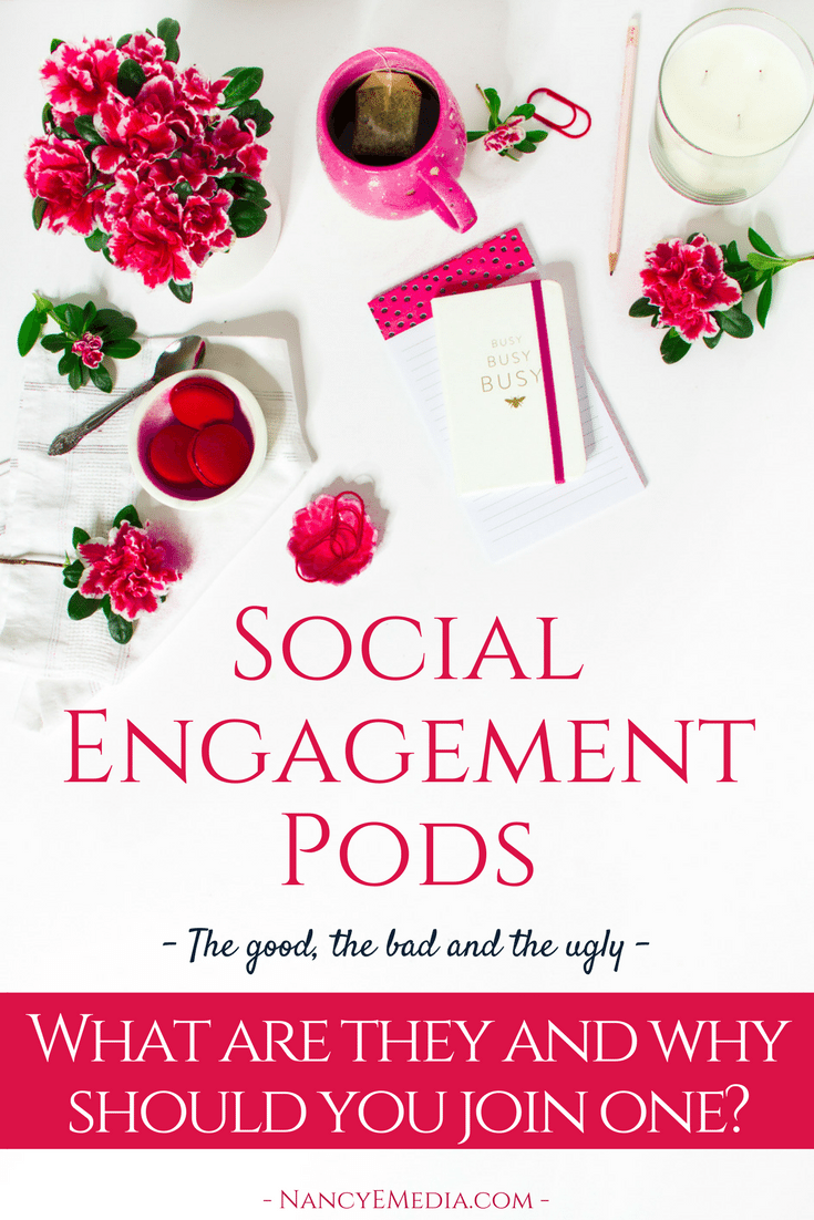 Social engagement pods the good the bad and the ugly, what are they and why should you join one_ - online marketing business social media coach mentor entrepreneur course